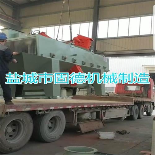 棒材通过式抛丸机发往广西中铝集团