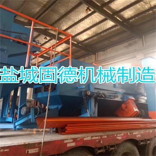 q6912通过式抛丸清理机发往江西赣州
