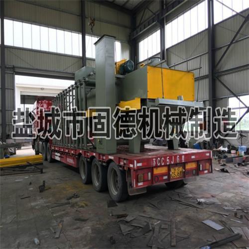 钢板型钢抛丸机发货江苏徐州