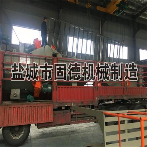 铝模板抛丸机发往山东滨州