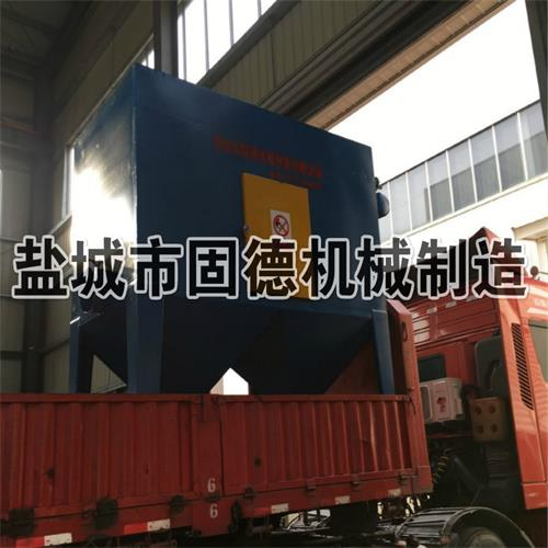 抛丸机用除尘器脉冲式发往山东济宁